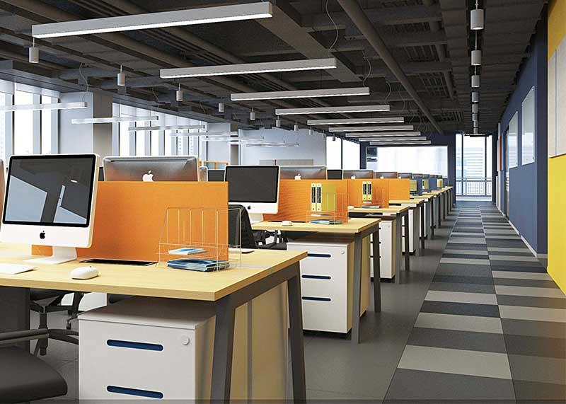 成都小型办公室装修效果图