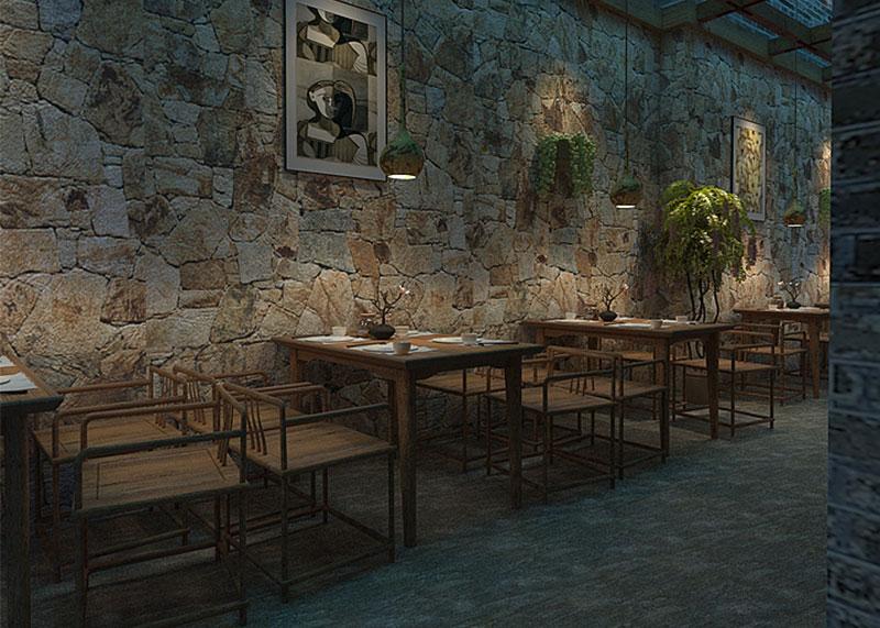 高逼格主题餐厅装修门头该如何设计