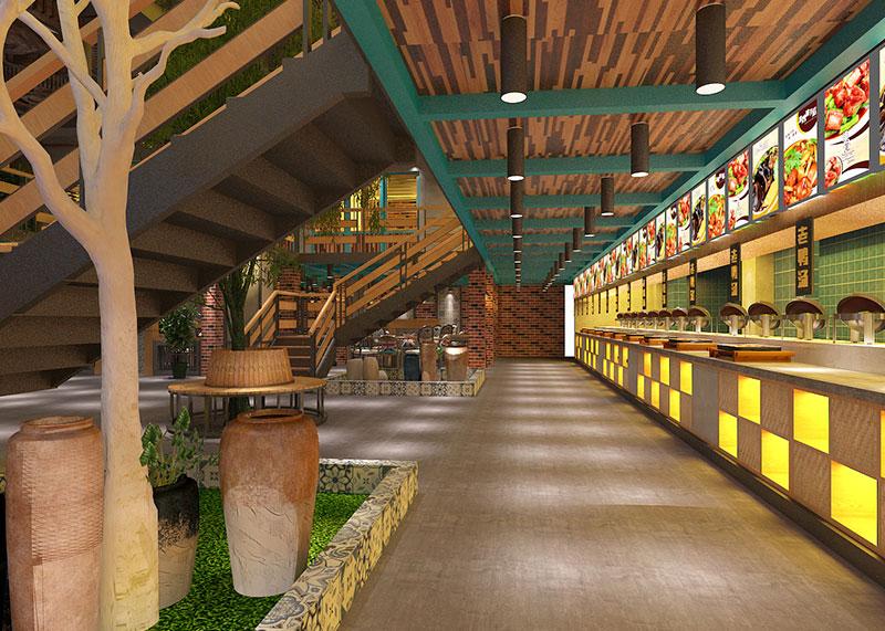 东南亚风格成都主题餐厅装修设计说明