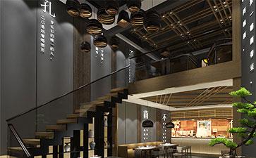 原生态主题餐厅装修风格效果图